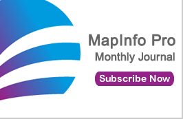 Logo for MapInfo Pro Monthly Journal